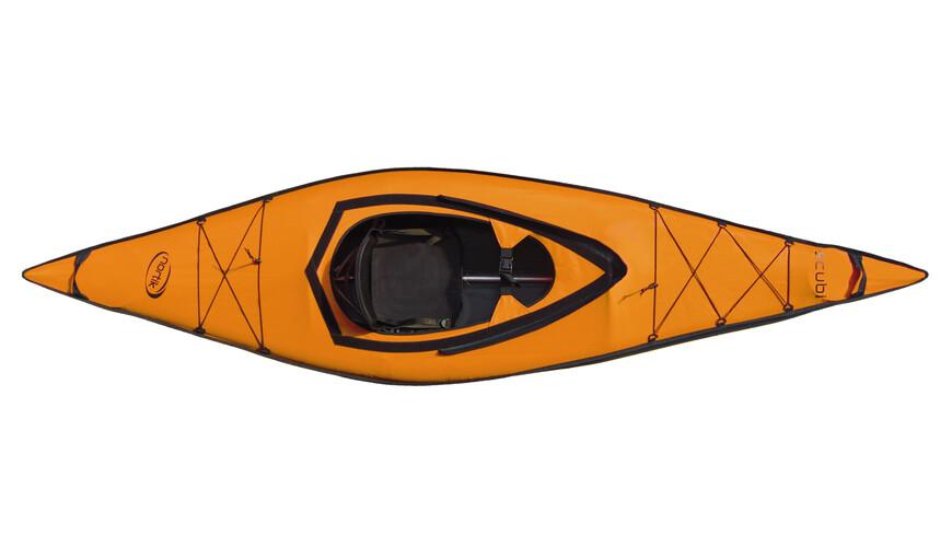 nortik scubi 1 - Bateau - Komplett-Set orange/noir